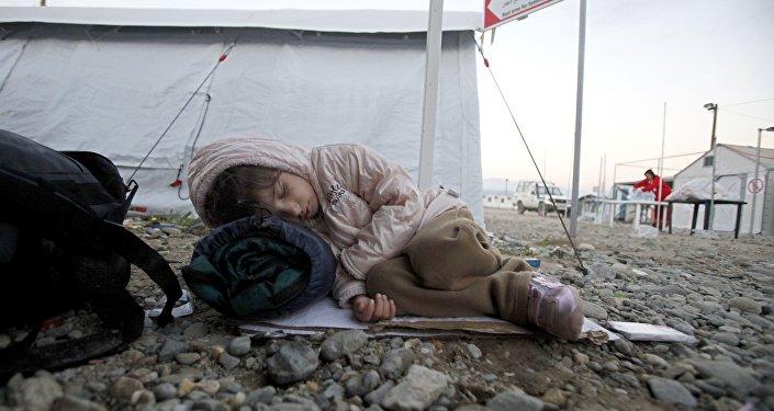 Un enfant migrant