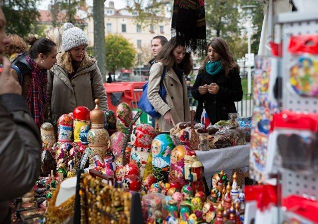 le nombre record de touristes en Russie