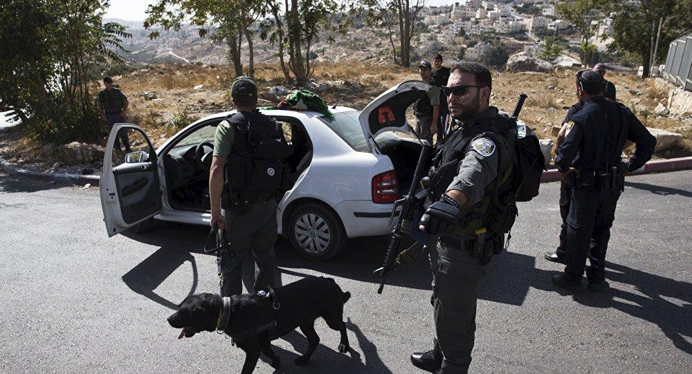 Police israélienne, Oct. 14, 2015