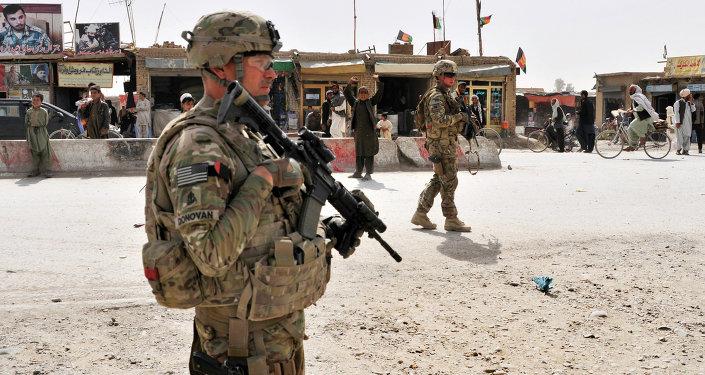 Militaires US à la frontière afghano-pakistanaise