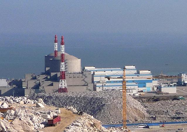 Une centrale nucléaire chinoise, image d'illustration