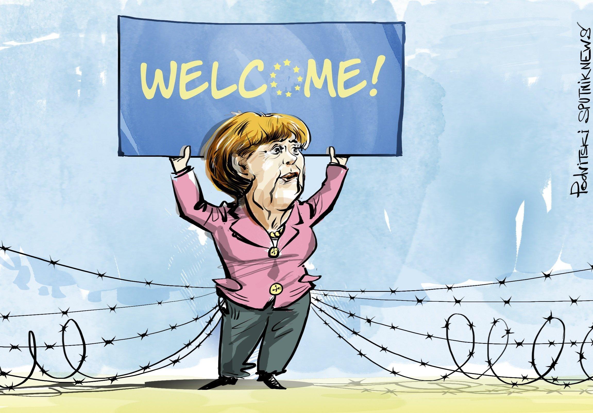 Le nouveau mur de Berlin, version UE