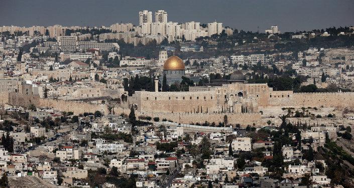 Vue générale de la mosquée al-Aqsa à Jérusalem