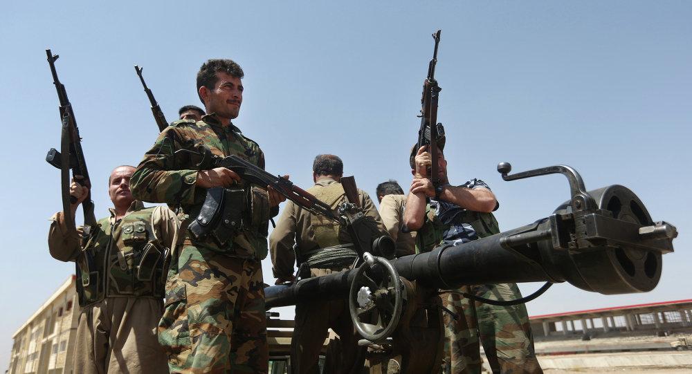 Combattans kurdes