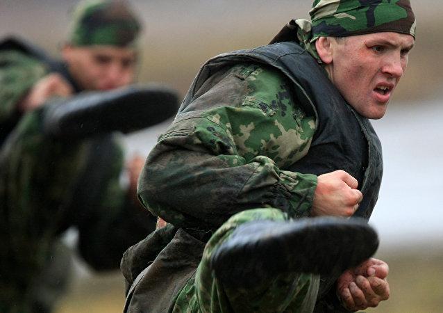 Un commando russe