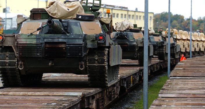 Des matériels militaires US