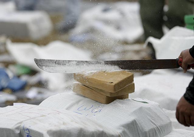 Brique de cocaïne