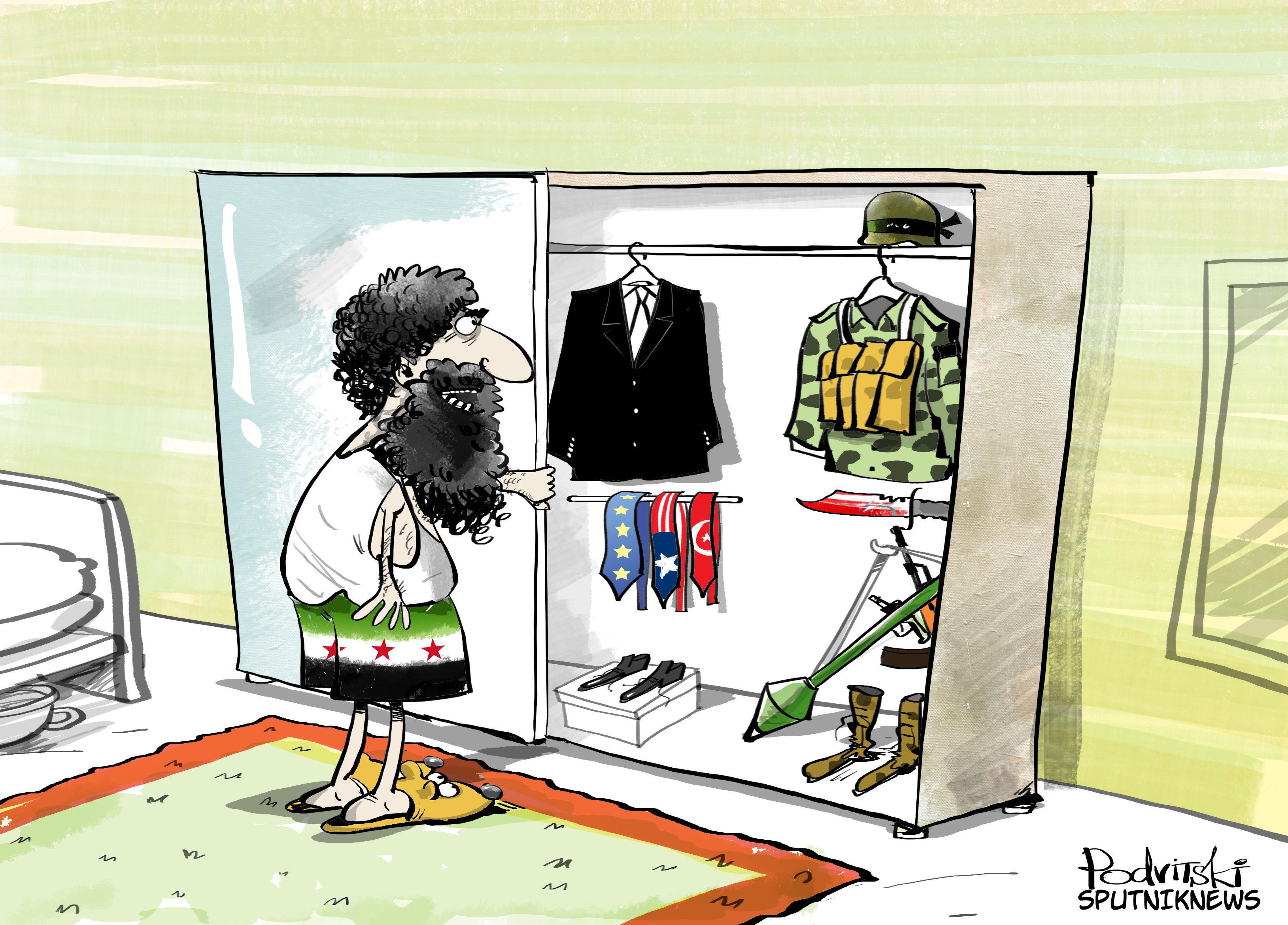 L'opposition syrienne va-t-elle retourner sa veste?