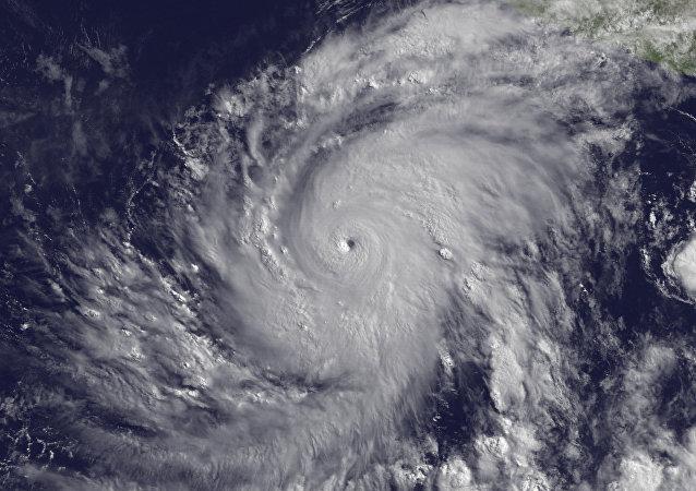 ouragan, image d`illustration