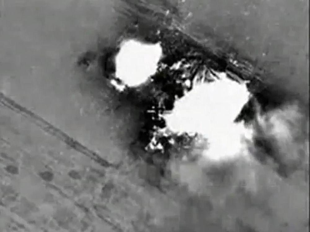 Nouvelles frappes aériennes de l'aviation russe contre l'EI en Syrie
