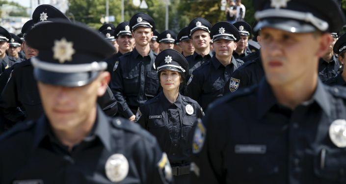 Policiers ukrainiens