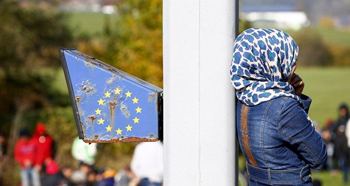 Migrants. La frontière entre l'Autriche et l'Allemagne