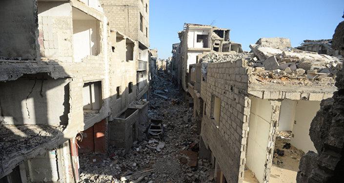 la situation en Syrie, Damas