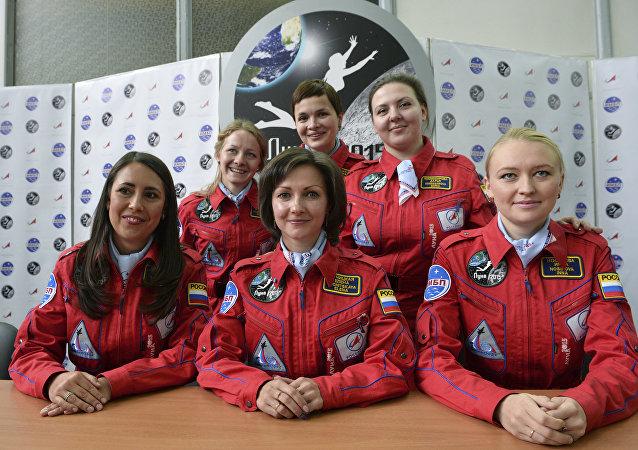 Vol interplanétaire: six femmes russes sélectionnées pour des essais