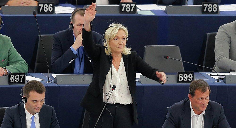 Marine Le Pen. Archive photo