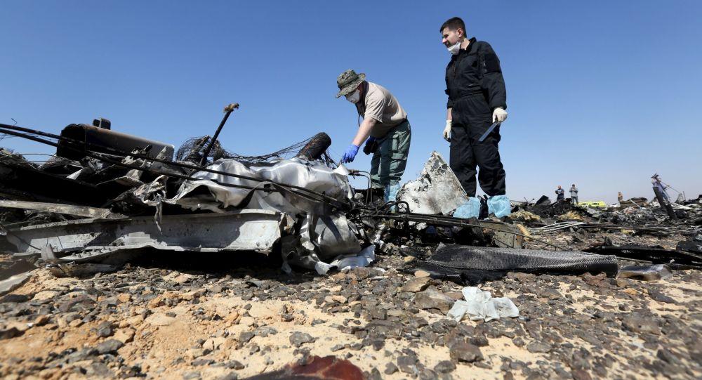 Le crash de l'Airbus A321