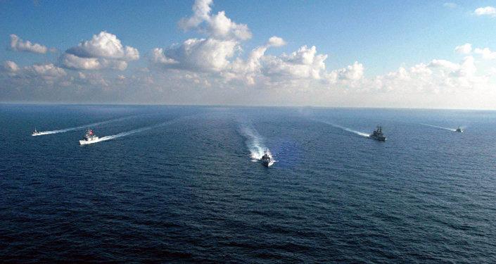 Des navires de l'US Navy