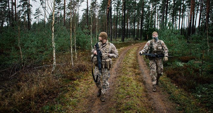 soldats lettons