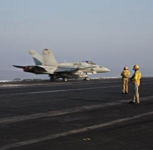 Un des avions US en mission en Syrie