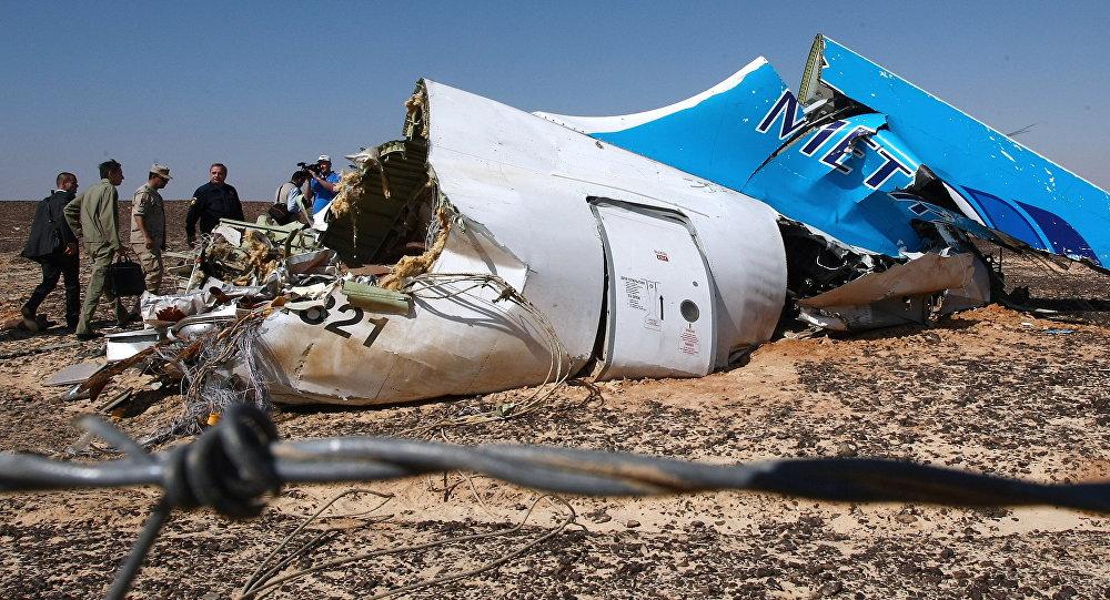 le crash de l'A321 en Egypte