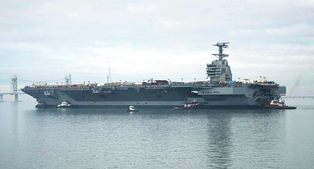 Porte-avions de l'United States Navy, premier navire de la classe Gerald R. Ford