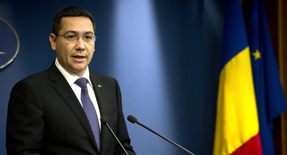 Le premier ministre roumain, Victor Ponta