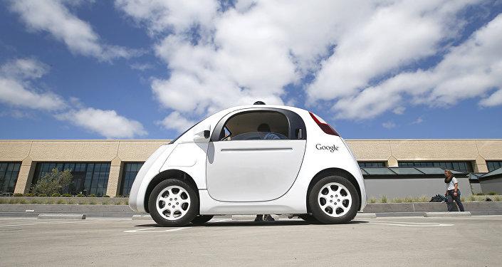 voiture sans conducteur Google
