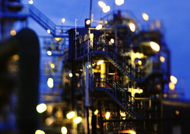 station pétrolière
