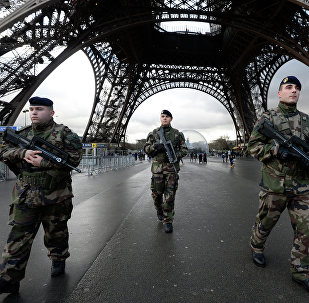 Soldats français Jan. 8, 2015. Paris