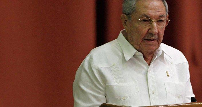 Raul Castro. Archive photo
