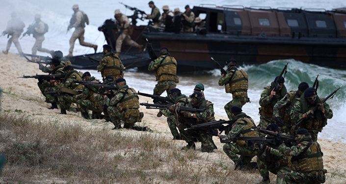 Exercice Trident Juncture 2015 au Portugal