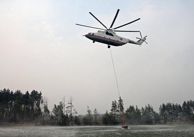 Hélicoptère Mi-26