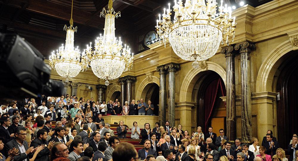 Le parlement catalan
