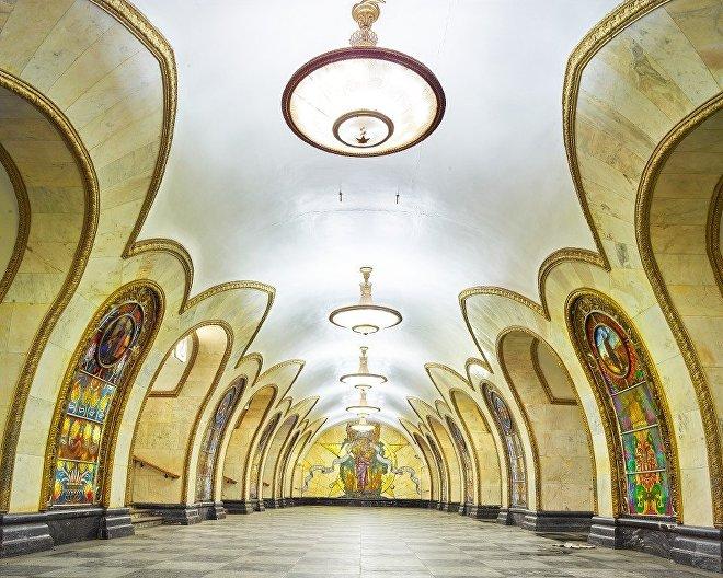 station de métro Novoslobodskaya
