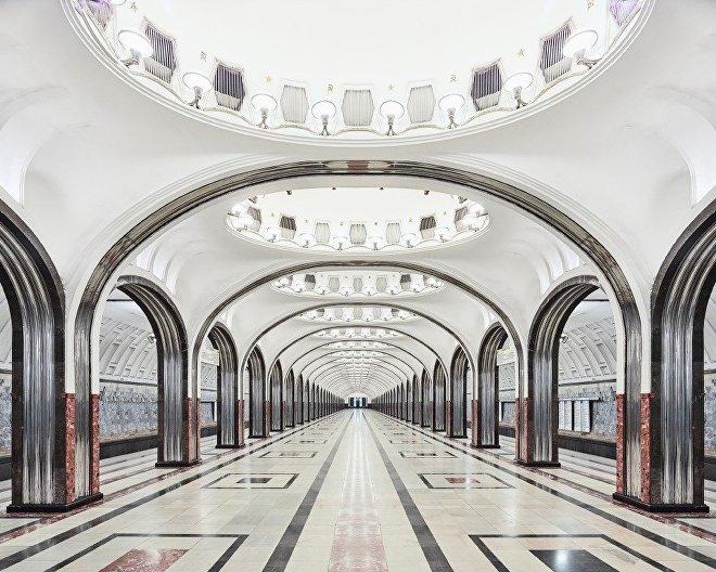 station de métro Mayakovskaya
