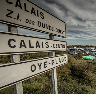 le camp de migrants «jungle» à Calais