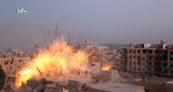 Syrie: une frappe contre les djihadistes de Daraya