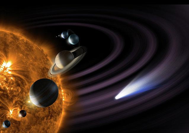 Un modèle du Système solaire