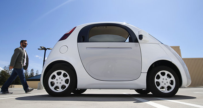 voiture sans conducteur Google