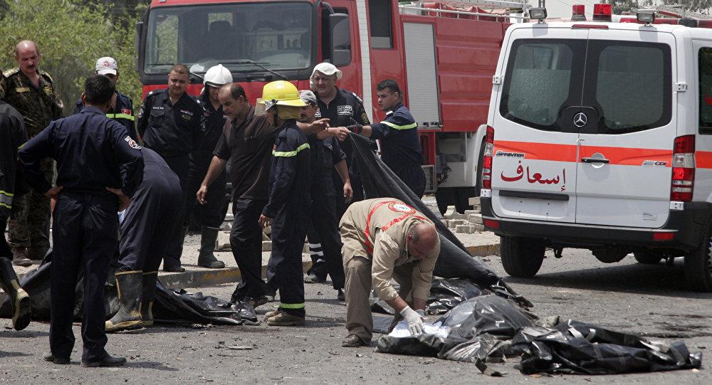 Attentat à la voiture piégée — Irak