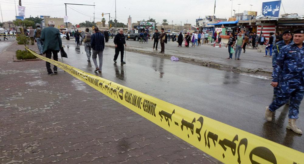 Police à Bagdad