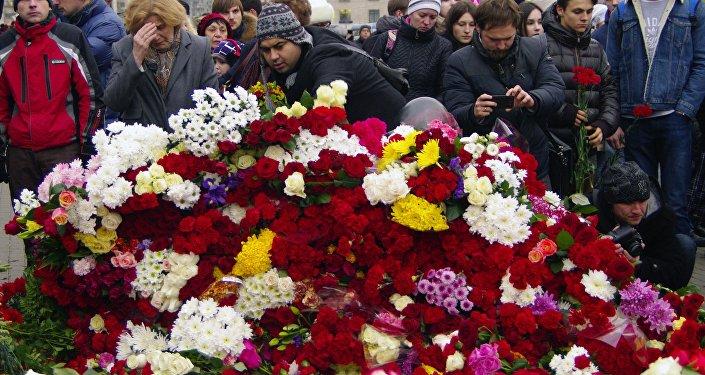 Reportage de l'ambassade de France: aujourd'hui, c'est le deuil commun