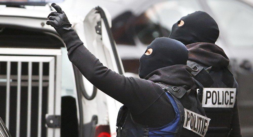 Un raid antiterroriste de la police belge