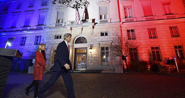John Kerry à Paris