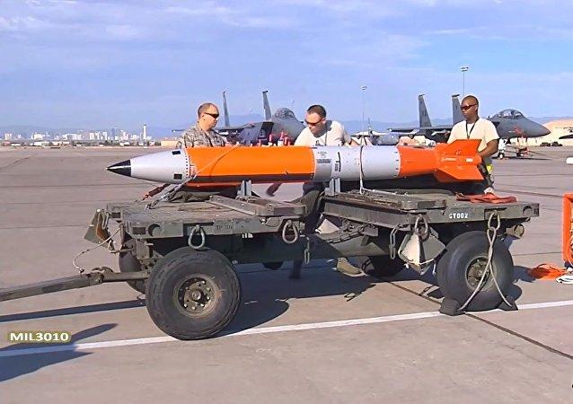 Les Etats-Unis testent une bombe nucléaire modernisée
