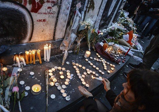 Situation à Paris après la série d'attaques terroristes