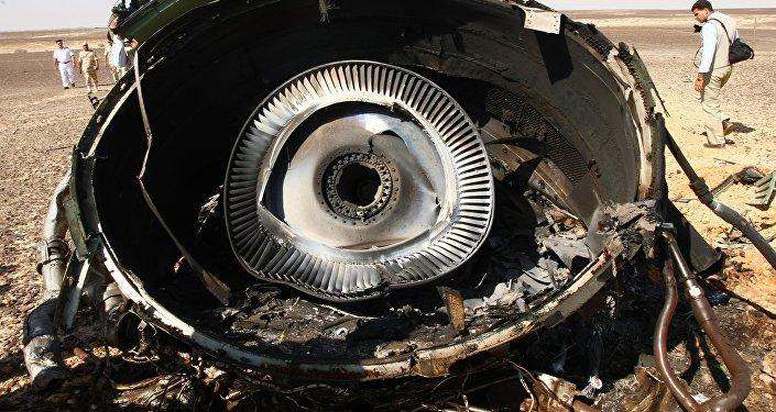Crash de l'A321 russe