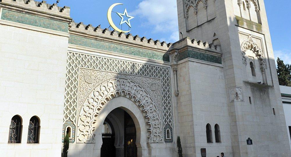 Grande mosquée de Paris. Archive photo