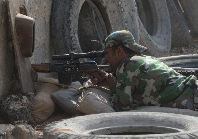Opération spéciale de l'Armée syrienne à Douma
