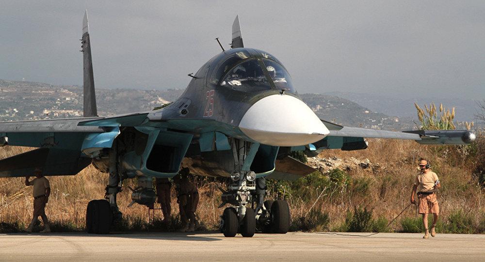Su-34 russe en Syrie
